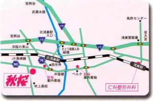 介護老人保健施設「秋桜」の概要マップ