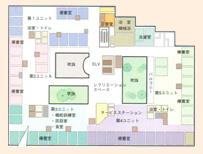 2・3階フロアガイド
